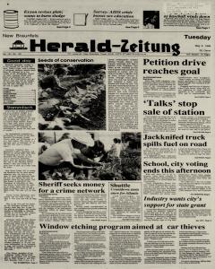 New Braunfels Herald Zeitung, May 02, 1989, Page 1
