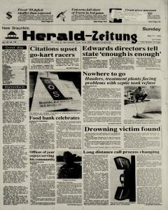 New Braunfels Herald Zeitung, May 21, 1989, Page 1