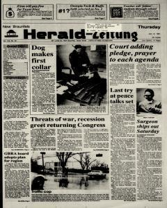 New Braunfels Herald Zeitung, January 03, 1991, Page 1