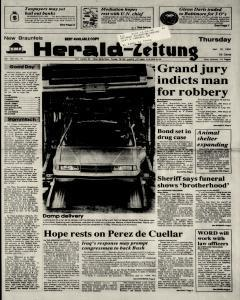 New Braunfels Herald Zeitung, January 10, 1991, Page 1