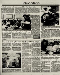 New Braunfels Herald Zeitung, January 27, 1991, Page 8