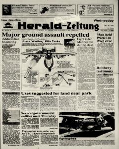 New Braunfels Herald Zeitung, January 30, 1991, Page 1