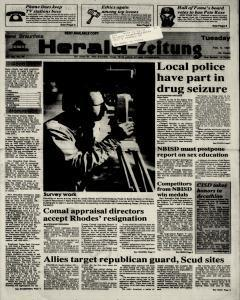 New Braunfels Herald Zeitung, February 05, 1991, Page 1