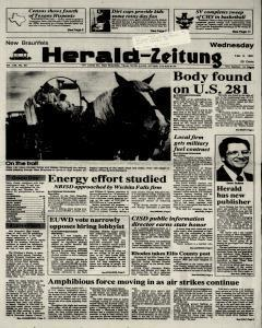 New Braunfels Herald Zeitung, February 06, 1991, Page 1