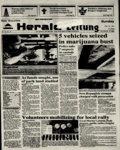 New Braunfels Herald Zeitung, February 10, 1991, Page 1