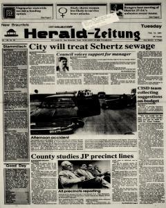 New Braunfels Herald Zeitung, February 12, 1991, Page 1
