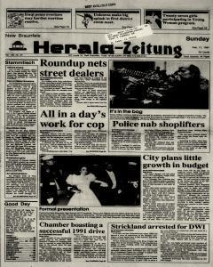 New Braunfels Herald Zeitung, February 17, 1991, Page 1