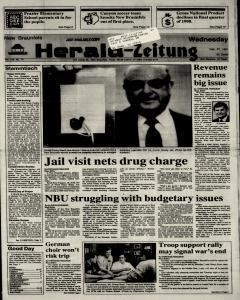New Braunfels Herald Zeitung, February 27, 1991, Page 1
