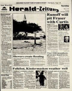 New Braunfels Herald Zeitung, May 05, 1991, Page 1