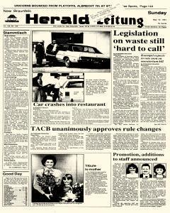 New Braunfels Herald Zeitung, May 12, 1991, Page 1