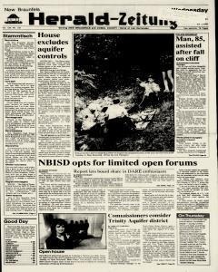 New Braunfels Herald Zeitung, May 22, 1991, Page 1