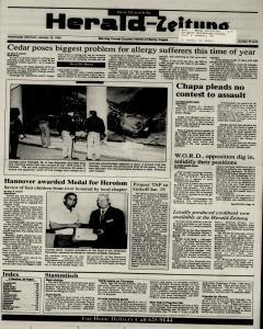 New Braunfels Herald Zeitung, January 13, 1993, Page 1