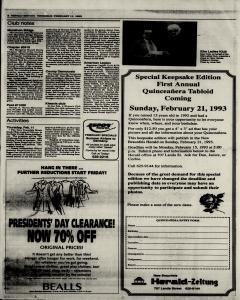 New Braunfels Herald Zeitung, February 11, 1993, Page 6