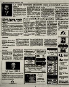 New Braunfels Herald Zeitung, February 23, 1993, Page 2