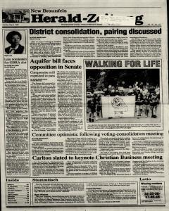 New Braunfels Herald Zeitung, May 09, 1993, Page 1