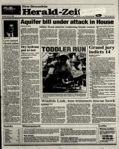 New Braunfels Herald Zeitung, May 16, 1993, Page 1