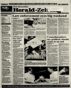 New Braunfels Herald Zeitung, May 28, 1993, Page 1