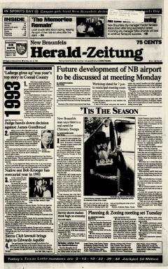 New Braunfels Herald Zeitung, January 02, 1994, Page 1