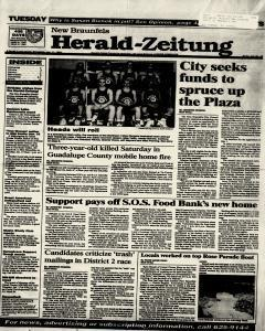 New Braunfels Herald Zeitung, January 11, 1994, Page 1