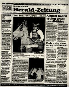New Braunfels Herald Zeitung, January 13, 1994, Page 1