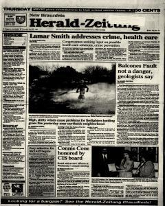 New Braunfels Herald Zeitung, January 20, 1994, Page 1