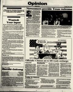 New Braunfels Herald Zeitung, February 03, 1994, Page 4