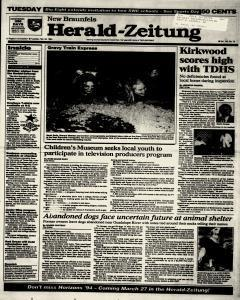 New Braunfels Herald Zeitung, February 22, 1994, Page 1