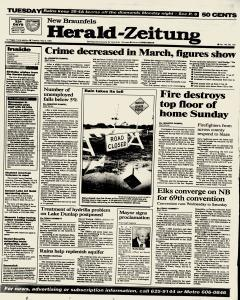 New Braunfels Herald Zeitung, May 03, 1994, Page 1