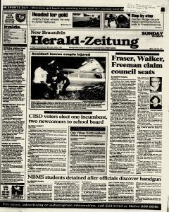 New Braunfels Herald Zeitung, May 08, 1994, Page 1