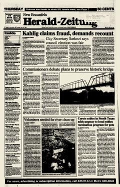 New Braunfels Herald Zeitung, May 12, 1994, Page 1