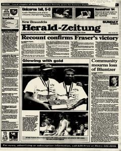 New Braunfels Herald Zeitung, May 15, 1994, Page 1