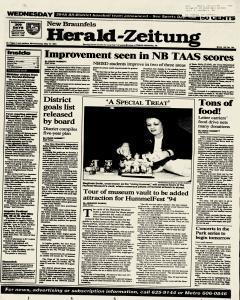 New Braunfels Herald Zeitung, May 18, 1994, Page 1