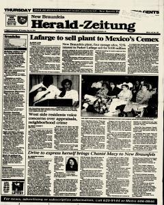 New Braunfels Herald Zeitung, May 19, 1994, Page 1