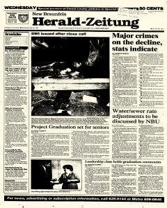 New Braunfels Herald Zeitung, May 25, 1994, Page 1