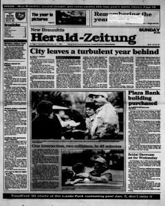 New Braunfels Herald Zeitung, January 01, 1995, Page 1