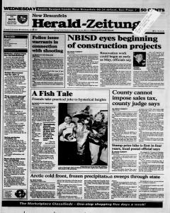 New Braunfels Herald Zeitung, January 04, 1995, Page 1