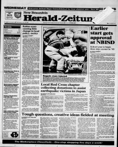 New Braunfels Herald Zeitung, January 18, 1995, Page 1
