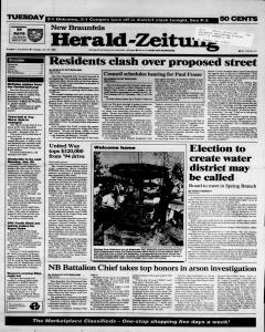 New Braunfels Herald Zeitung, January 24, 1995, Page 1