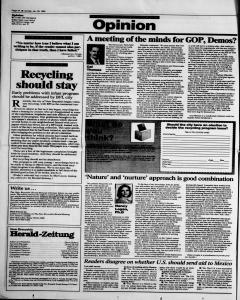 New Braunfels Herald Zeitung, January 29, 1995, Page 4