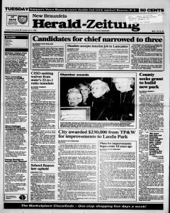 New Braunfels Herald Zeitung, January 31, 1995, Page 1