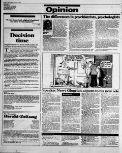 New Braunfels Herald Zeitung, January 31, 1995, Page 4