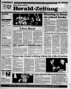 New Braunfels Herald Zeitung, February 02, 1995, Page 1