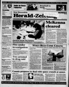 New Braunfels Herald Zeitung, February 05, 1995, Page 1