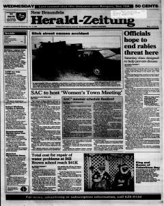 New Braunfels Herald Zeitung, February 15, 1995, Page 1