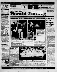 New Braunfels Herald Zeitung, February 19, 1995, Page 1