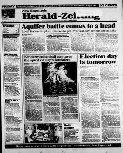 New Braunfels Herald Zeitung, May 05, 1995, Page 1