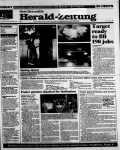 New Braunfels Herald Zeitung, May 12, 1995, Page 1
