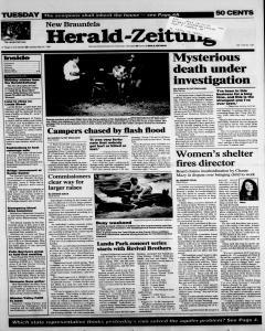 New Braunfels Herald Zeitung, May 30, 1995, Page 1