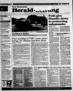 New Braunfels Herald Zeitung, June 22, 1995, Page 1