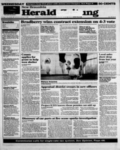New Braunfels Herald Zeitung, January 17, 1996, Page 1